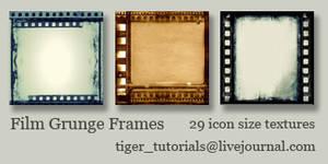 Film Grunge Frames
