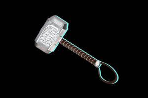 MMD - Thor's Hammer (Mjolnir) [+Dl] by Hylian-Ale