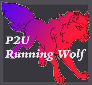 P2U Running Wolf