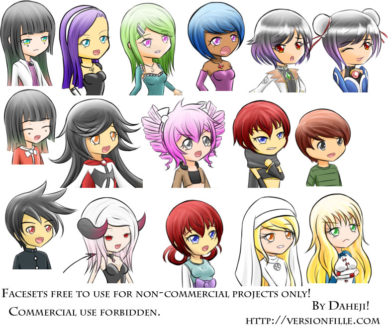 Facesets by Daheji