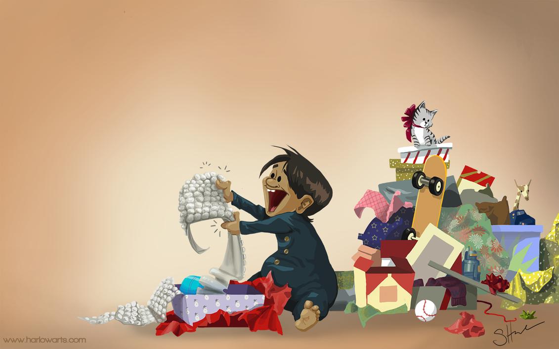 Presents by Stephanie Harlow by Rontu827