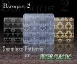 Baroque seamless patterns