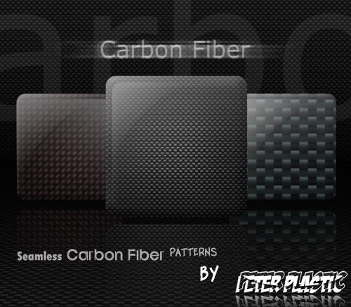 Carbon Fiber seamless by PeterPlastic