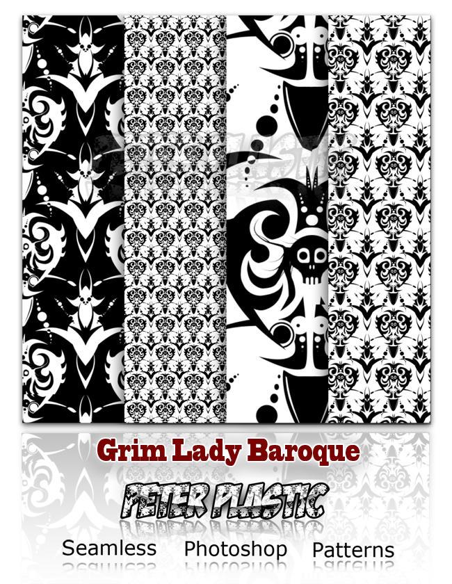 Grim Lady baroque by PeterPlastic