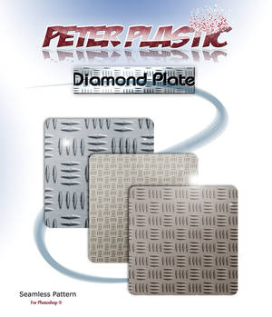 Diamond plate pattern for photoshop
