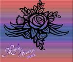 Rose Stencil 2 PSD