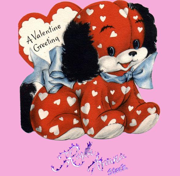 Vintage Valentine 1 PSD