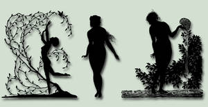 Silhouette Pack 1 PSD by ravenarcana
