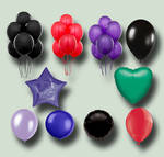 Balloons PSD Pack