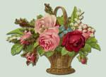 Flower Basket PSD