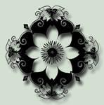 Flower Stencil 1 PSD