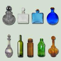 Bottle Pack psd by ravenarcana