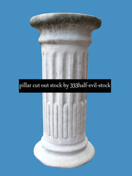 Pillar Cut-out stock by 333half-evil-stock