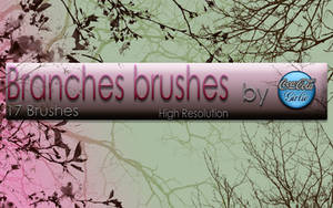 Branches Brushes by cocacolagirlie