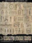 Hieroglyph Symbols Brushes