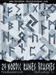 Nordic Runes GIMP Brushes