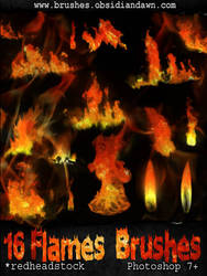 GIMP Flames Brushes by Project-GimpBC