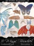 GIMP Wings Brushes