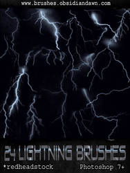 GIMP Lightning Brushes by Project-GimpBC