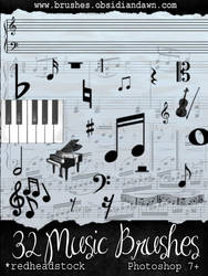 GIMP Music Brushes