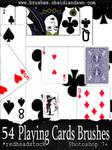 GIMP Playing Card Brushes