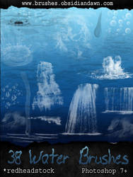 GIMP Water Brushes by Project-GimpBC