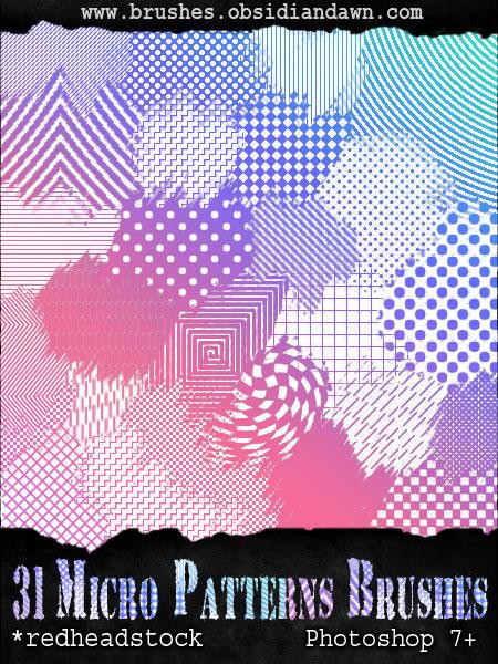 مكتبة الباترن 2013 ( اكبر تجميعه لملفات البآترن ) 2013 GIMP_Micro_Patterns_Brushes_by_Project_GimpBC