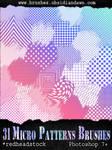 GIMP Micro Patterns Brushes