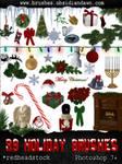 GIMP Holiday Brushes