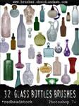 GIMP Glass Bottles Brushes