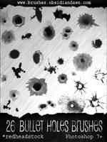 GIMP Bullet Holes Brushes by Project-GimpBC