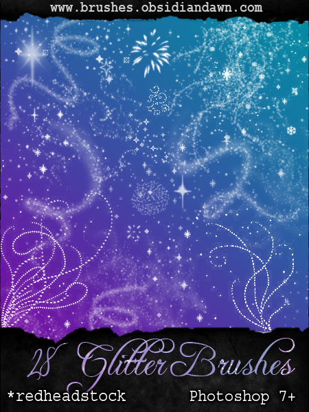 GIMP Glitter Brushes by Project-GimpBC