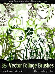 GIMP Vector Foliage-Plants