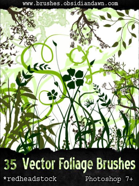 GIMP Vector Foliage-Plants by Project-GimpBC