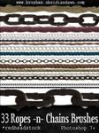 GIMP Ropes N Chains Brushes