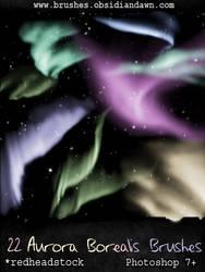 GIMP Aurora Brushes