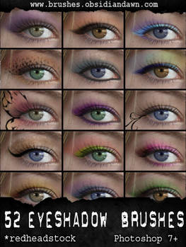 GIMP Eyeshadow Brushes