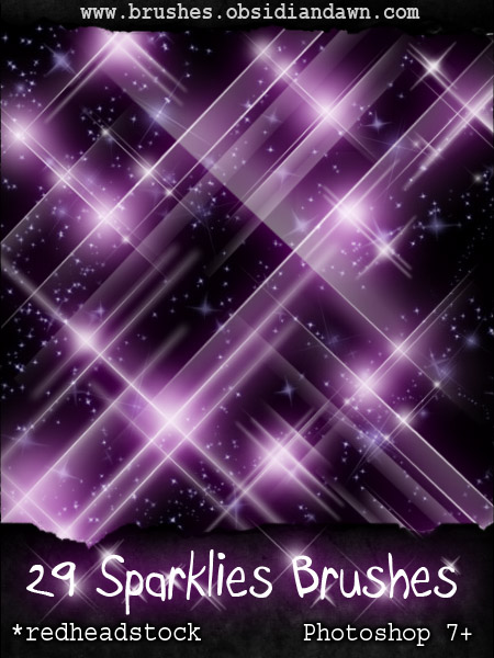 GIMP Sparklies Brushes