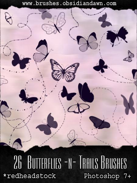 GIMP Butterflies N Trails