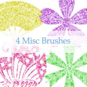 GIMP Misc Brushes by nejika