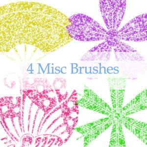 GIMP Misc Brushes by nejika