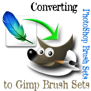 Converting PhotShop Brush Sets by Project-GimpBC