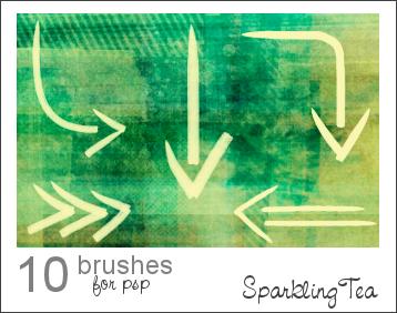 GIMP Arrow Brushes