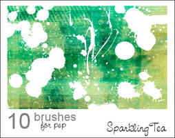 GIMP Splatter Brushes