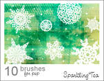 GIMP Snowflake Brushes