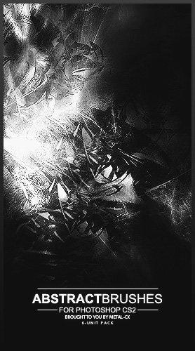 Metal-CX Abstract Brushes by Project-GimpBC