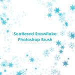 Snowflake Photoshop Brush - 3 styles