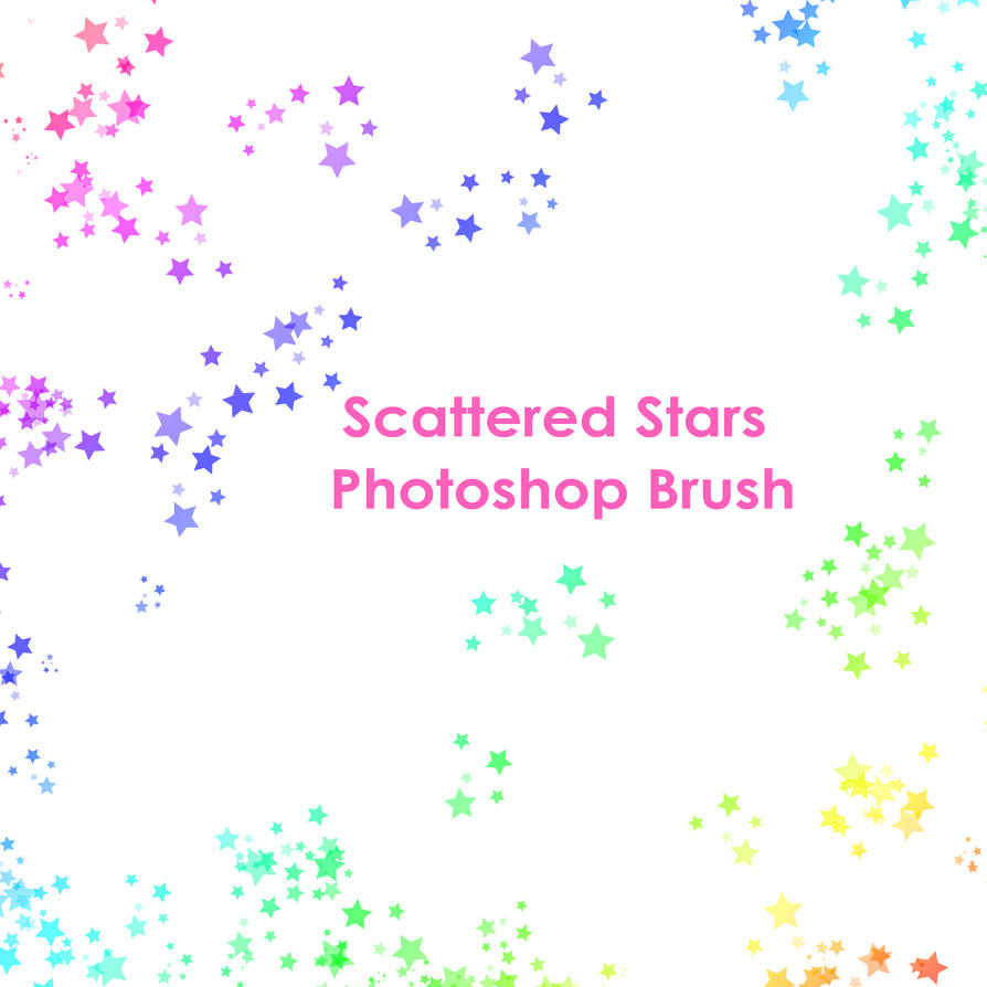 star brush for photoshop by starshinesuckerpunch