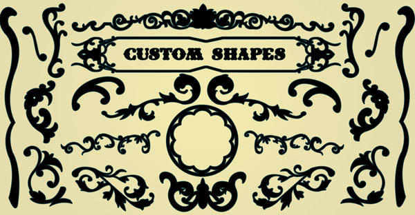 decorative 'circus' shapes by TwoPartsGlue