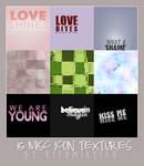 15 Misc Icon Texture